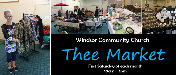 """Thee Market"" in Windsor"