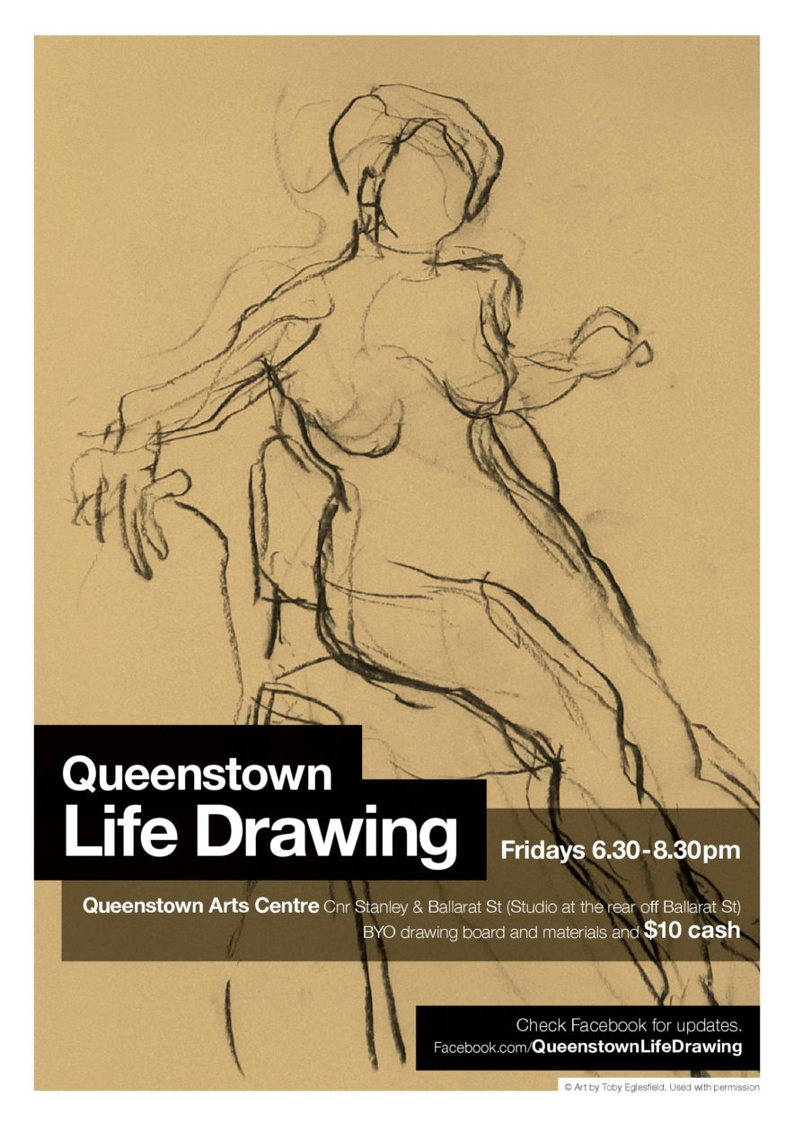 Queenstown Life Drawing