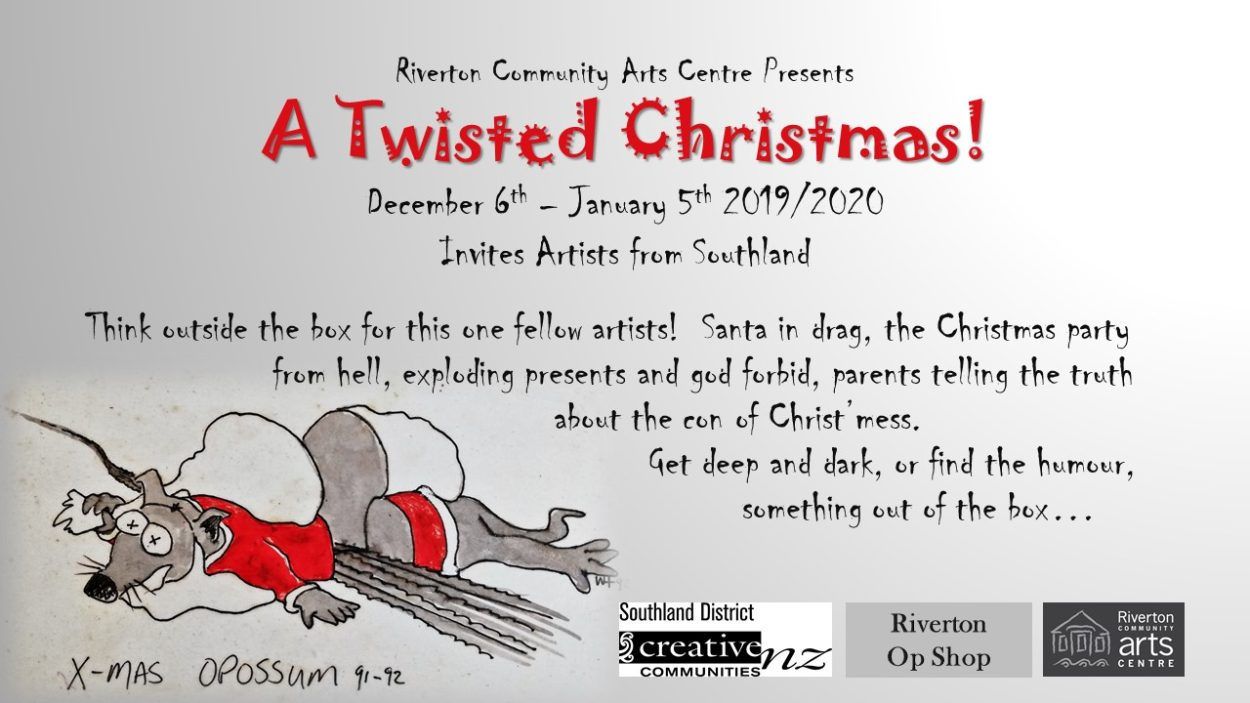 A Twisted Christmas Art Exhibition