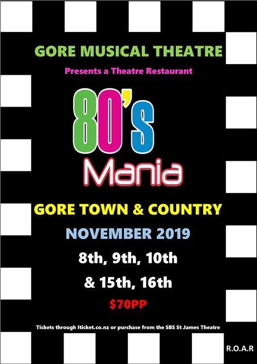 80's Mania Theatre Restaurant