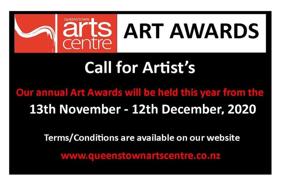 Queenstown Art Centre 2020 Art Awards