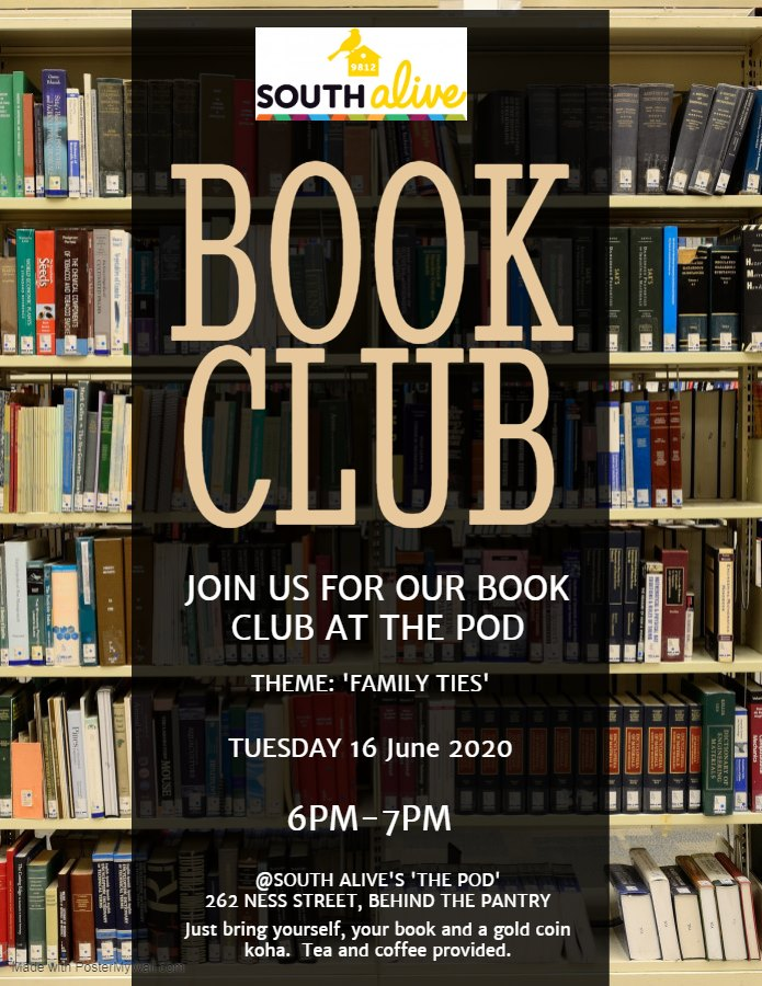 South City/South Alive Book Club