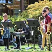 Jazzical at the 50th Anniversary Celebrations for the Queens Park Tea Kiosk