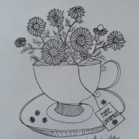 A cup of camomile